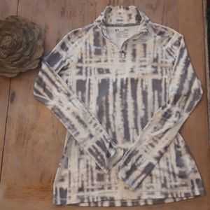 Under Amour Coldgear tie dyed long sleeve Large